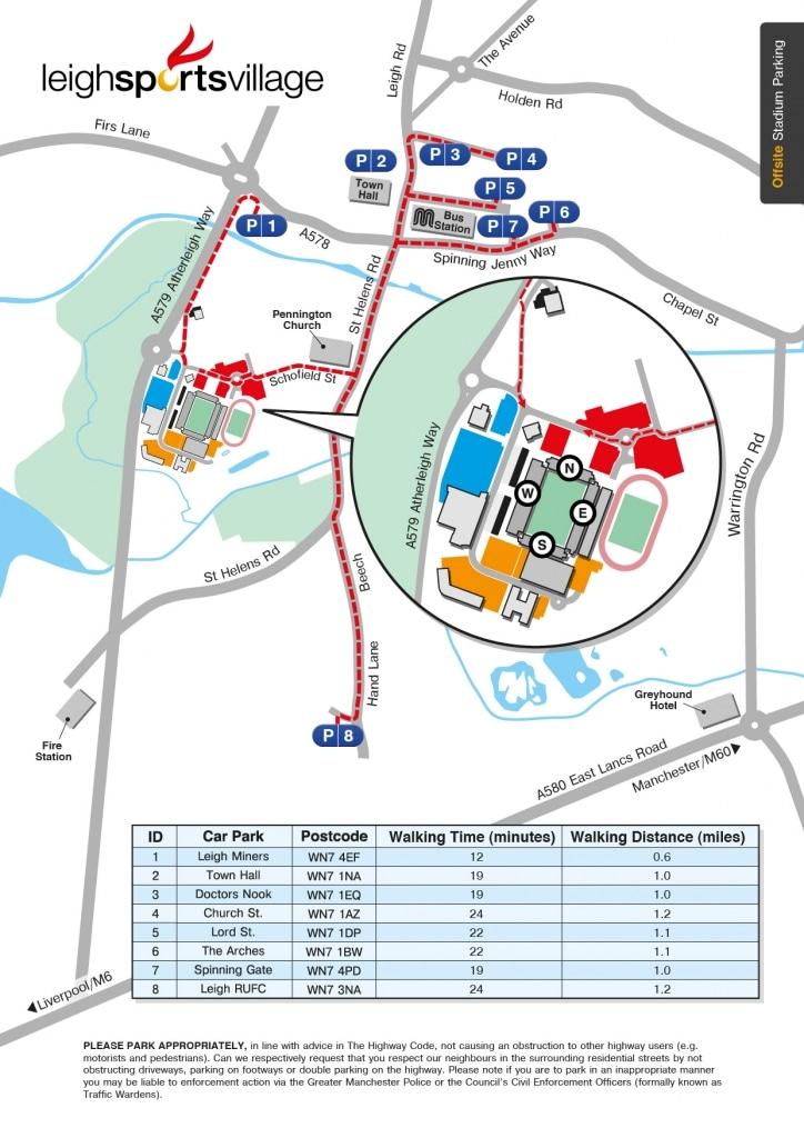 LSV Parking Map Winter